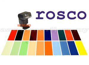 20-Strobist-Flash-Lighting-Gel-Filter-ROSCO-Color-2x5in