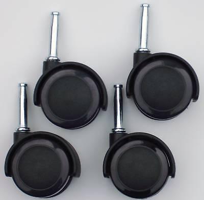 24 Kitchen Chair Casters Laminate Wood Floor 5/16 X 1.5 Long Stems Cs-516