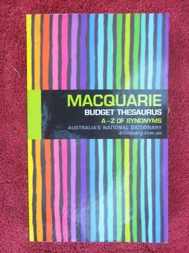 MACQUARIEN  BUDGET  THEAURUS