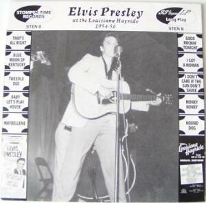 ELVIS-PRESLEY-THE-LOUISIANA-HAYRIDE-1954-1956-UK-10-034-VINYL-LP-ROCKABILLY