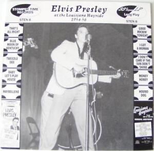 ELVIS PRESLEY - THE LOUISIANA HAYRIDE 1954 - 1956 - UK 10