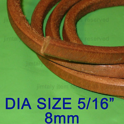 100ft Sewing Machine Leather Treadle Belt Belting 5/16
