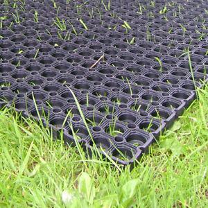 Heavy duty rubber grass mat outdoor safety flooring for for Outdoor safety flooring