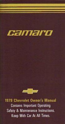 1979 Camaro Owner's Manual