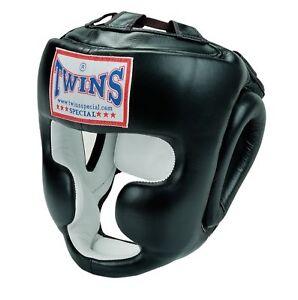 Twins Trainings Kopfschutz, Headguard. Muay Thai, Kickboxen,Boxen, Jochbein Kinn