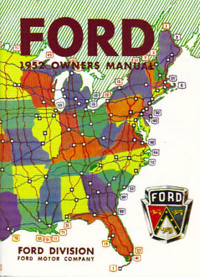 1952 Ford Passenger Car Owner's Manual