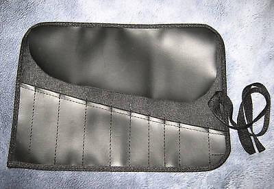 Modestil Rolltasche Werkzeugtasche Tasche Werkzeug Rolle Zwick Bag Kunstleder Schwarz Harmonische Farben