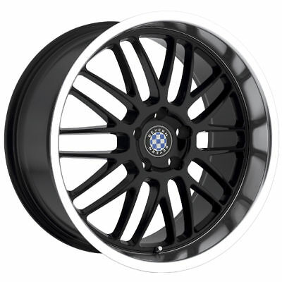 18 Staggered Black Beyern Mesh Wheels Rims 5x120 Bmw 5 Series E39 E60