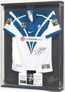 DARYL-HALLIGAN-ABOVE-AND-BEYOND-CANTERBURY-BULLDOGS-SIGNED-JERSEY