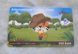 USED-THAILAND-PHONECARD-DEE-300-Baht-International