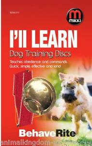 Mikki BehaveRite Dog Training Discs with Training Guide