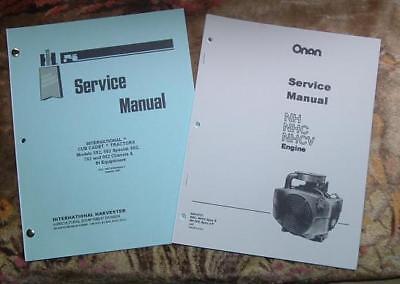 CUB CADET 582 582S 682 782 & 982 SERVICE MANUALS SET 4