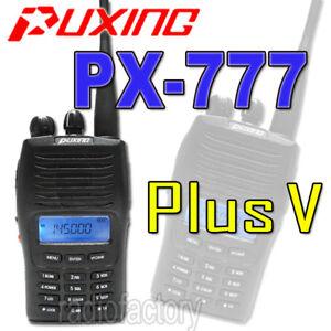 Puxing-PX-777-PLUS-VHF-Scrambler-ANI-free-earpiece