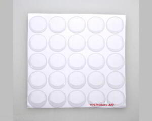 50-Pc-25mm-round-Self-Adhesive-Clear-Polyurethane-Dome