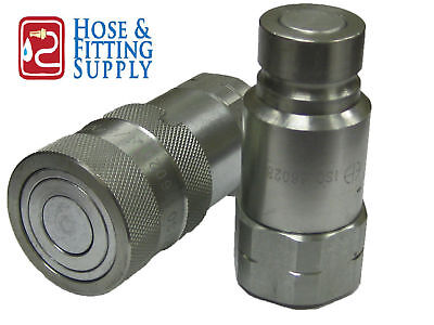 Hydraulic Quick Couplings -Flush Face/Flat Face Set 1/2 on Rummage