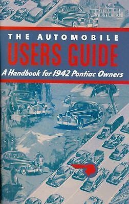 1942 Pontiac Manual-6 & 8 Cylinder