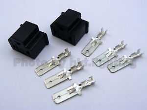2x-H4-9003-HB2-HID-MALE-connectors-connector-Plug-wire-pins-adapter-socket