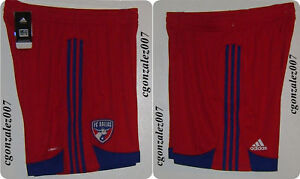 Adidas FC Dallas Soccer Shorts Jersey Men's NWT
