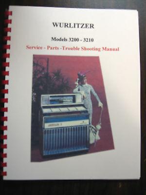 Wurlitzer Model 3200/3210 Jukebox Manual