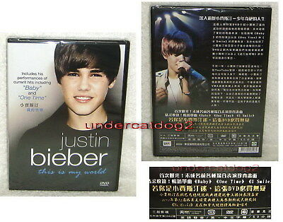 Justin Bieber This Is My World Taiwan DVD