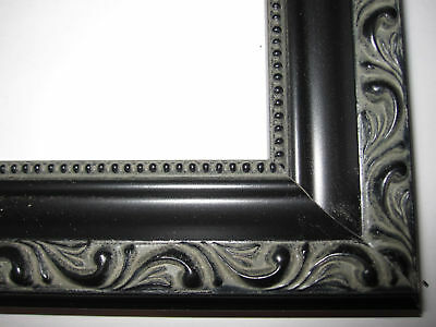 Black English Victorian Ornate Wood Picture Frames-Custom ...