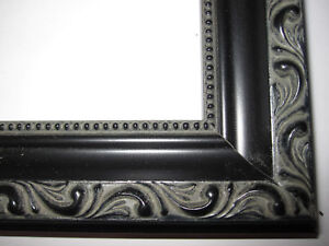 image is loading black english victorian ornate wood picture frames custom