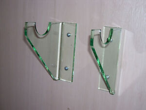 Acrylic Rifle Musket Glass Look Wall Mount Display Ebay
