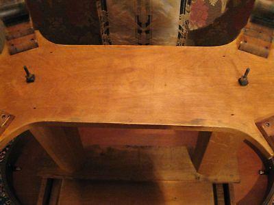 Antique Oval Oak Library Parlor Lamp Breakfast Table Ebay