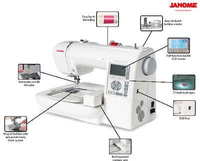 janome 200e embroidery machine dc1018 sewing machine combo. Black Bedroom Furniture Sets. Home Design Ideas