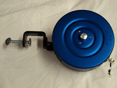 A s hand line reel trolling reel for rivers includes 60 for Handline fishing reel