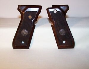 Beretta Firearms  Model 92 FS Original Factory Wood Grip, BRAND  NEW