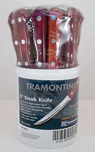 TRAMONTINA-5-034-Steak-Knife-Lot-of-24-Knives-80019-403