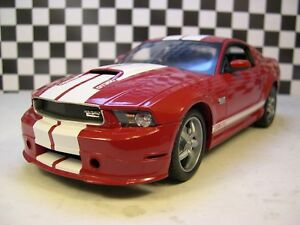 CARROLL-SHELBY-COLLECTION-1-18-SCALE-RED-2011-SHELBY-GT350-MUSTANG