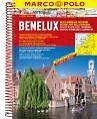 MARCO POLO Reiseatlas Benelux, Belgien, Niederlande, Luxemburg 1:200 000 (2015, Ringbuch)