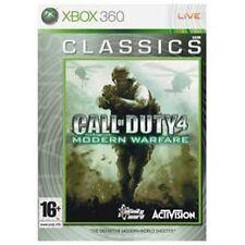 Call of Duty 4: Modern Warfare Microsoft Xbox 360 Video Games PEGI 16 Rating