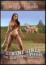 Bikini Girls On Dinosaur Planet (DVD, 2005, Misty Mundae)