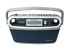Portable Radio: Roberts Gemini 12 Radio Portable Design, Digital Tunning, LCD, LED Display...