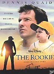 The-Rookie-DVD-2002-Full-Frame-NEW-Free-Ship-in-Canada