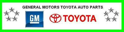 General Motors Toyota Auto Parts