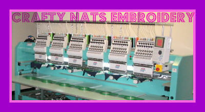 Crafty Nats Embroidery
