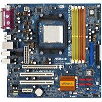 ASRock Mainboards mit DDR2 SDRAM-Speicher und PCI Erweiterungssteckplätzen