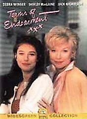 TERMS-of-ENDEARMENT-Wide-Screen-DVD-MacLaine-Nicholson-Winger-LIKE-NEW-Perfect