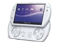 WHITE-SONY-PSP-GO-16GB-CONSOLE-ADAPTER-PSP-N1003-CONSOLE