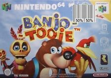 Nintendo 64 Banjo-Tooie Video Games