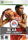 NCAA March Madness 08 (Microsoft Xbox 360, 2007)