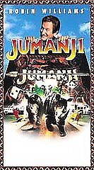JUMANJI JUMANJI JUMANJI VHS Tape Used POPULAR Home Movies ROBIN WILLIAMS