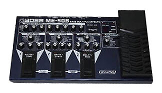 boss me 50b multi effects guitar effect pedal for sale online ebay. Black Bedroom Furniture Sets. Home Design Ideas