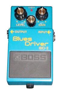 BOSS BD-2 BlauS DRIVER DISTORTION PEDAL