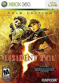 Resident-Evil-5-Gold-Edition-BRAND-NEW-Xbox-360-Complete-with-all-DLC-Capcom