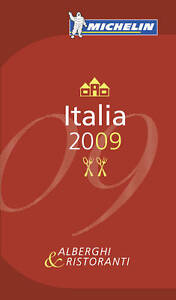 Italia-2009-Annual-Guide-2009-by-Michelin-Editions-des-Voyages-Paperback